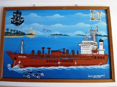 Oil PAINTING -from PASSSENGER  Vessel - 100% ORIGINAL (1)
