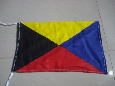 Z - Naval Signal Flag - ZULU - Require Tug- 100% COTTON � FREE SHIPPING