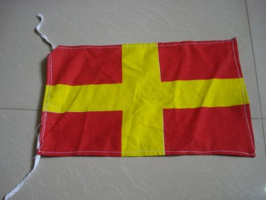 R - Naval Signal Flag - ROMEO - Feel Your Way Past Me- 100% COTTON � FREE SHIP