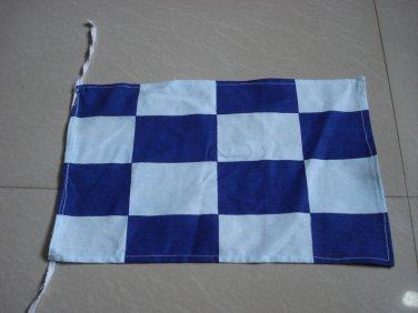 N - Naval Signal Flag - NOVEMBER - Negative - 100% COTTON � FREE SHIPPING