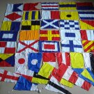MARINE Navy MILITARY Signal Code FLAG Set - 100% COTTON -Set of Total 40 flags