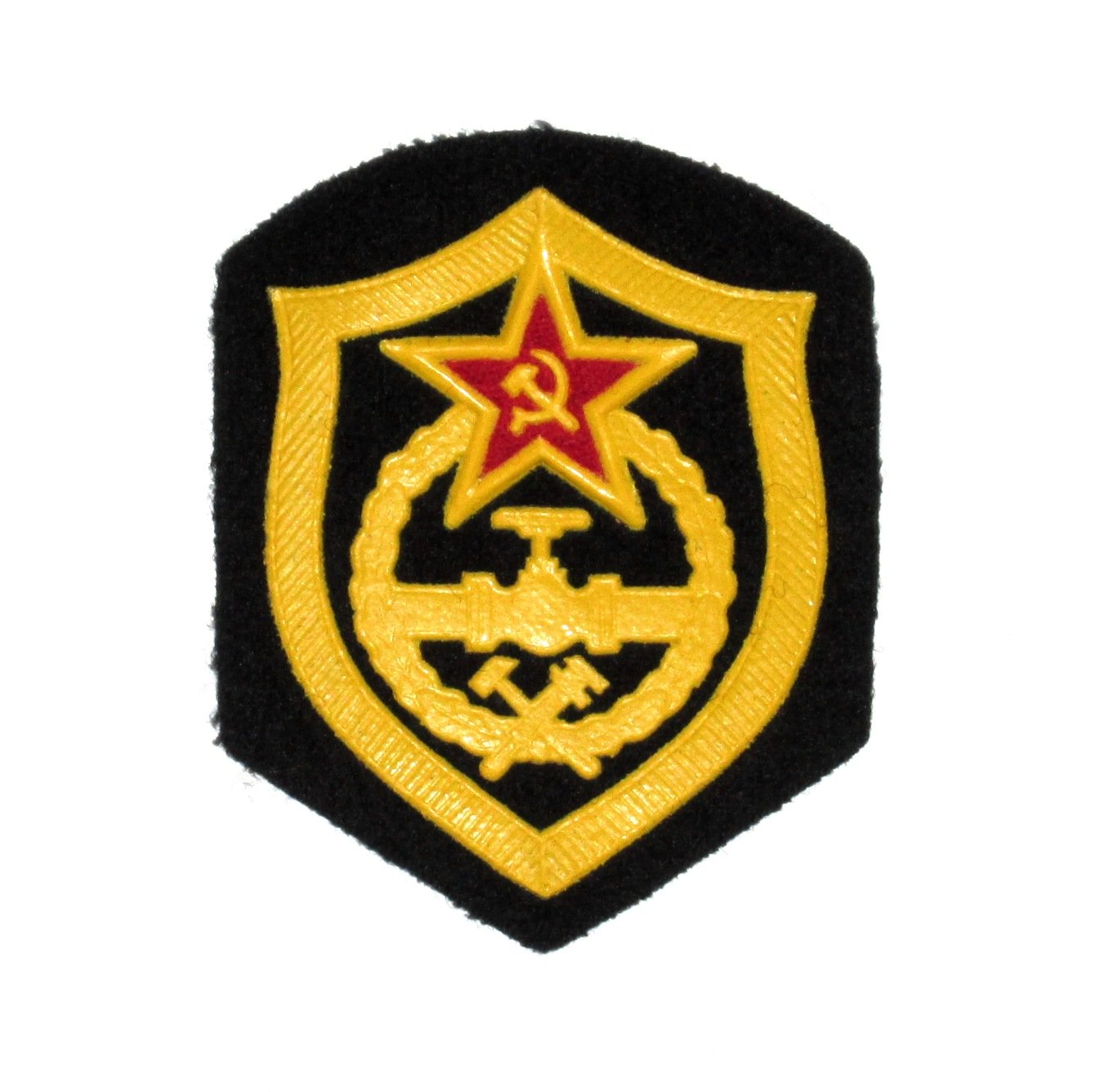 Patch Military Russia Vintage Soviet Union - Soviet Army - Pipeline Troops