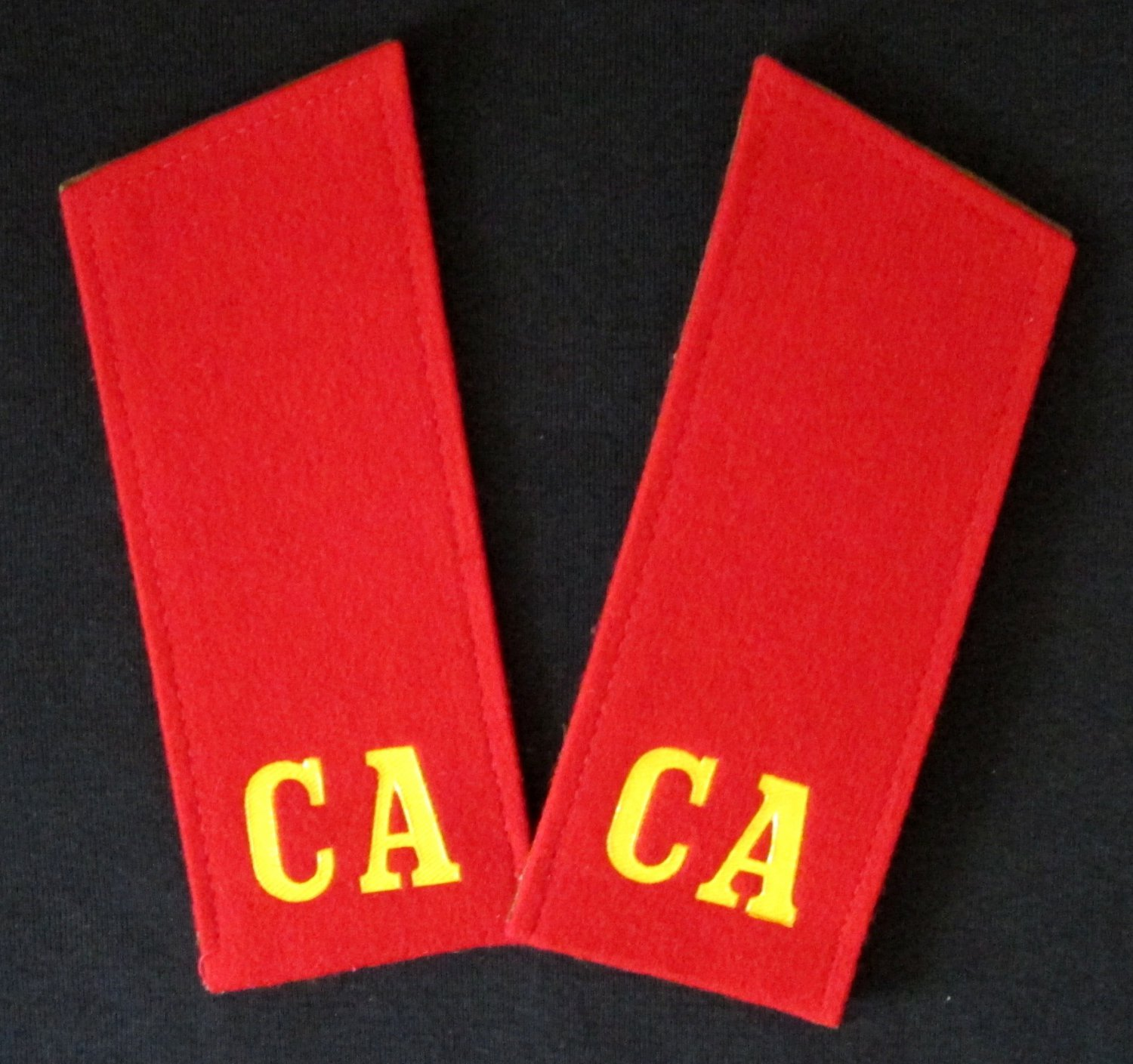 Shoulder Boards Original Soviet Union USSR Russian Red Star Military