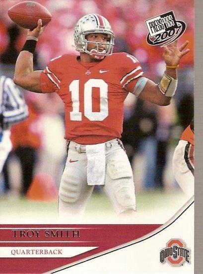 2007 Press Pass Troy Smith Heisman Trophy Winner RC #4