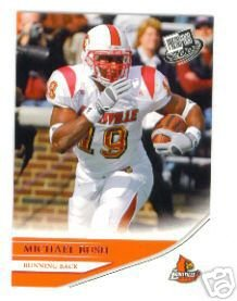 2007 Press Pass Michael Bush RC #6