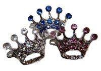 Swarvoski Crystal Crown Barette