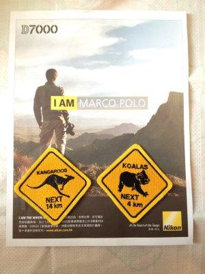 4DesignCraft Australia Mascot Kangaroo Koala animal Road Sign Emblem Souvenir