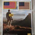US United States modern & Vintage Flag embroidered badge DIY Uniform Embellishment※4DesignCraft※