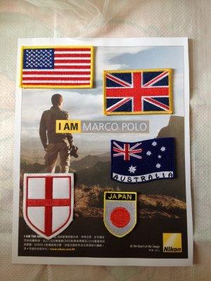 Patch Flag US United States modern Vintage embroidered badge Uniform Embellishment 4DesignCraft
