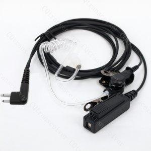 Heavy Duty Tube Earpiece for Motorola Walkie talkie SP10 SP20 SP50 CP88 CP040 CP100 CP110 CP125