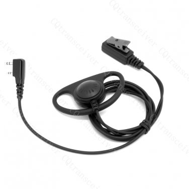 Soft Rubber D Loop Earpiece for Puxing PX777 PX888 PX999 PX333 PX666 TYT UV-F1 UV-F2 UV-5R