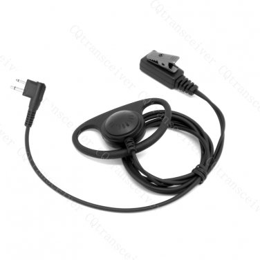 D Shape earpiece Mic for Motorola Radio CP88 CP040 CP100 CP110 CP150 CP200 SP10 SP21 SP50 GP88 GP300