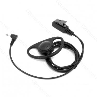 D Ring Speaker Headset with Push to talk button for Motorola Talkabout T270 T280 T289 T4800 T4900