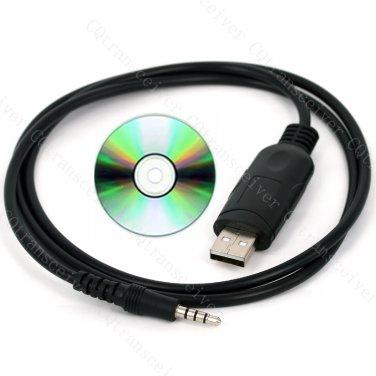 USB Programming Cable Cord CT-42 for Yaesu two way radio VX14 VX17 VX1R VX2R