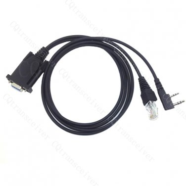 2 in 1 Programming Cable for Kenwood TK-360G TK370 TK370G TK372G TM-271A TM-261A TM-461A