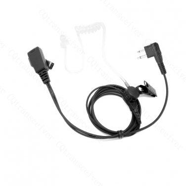 Clear tube Earphone Mic with PTT for Motorola CP88 CP040 CP080 CP110 CP100 CP125 CP150 CP200 CP300