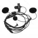 Close Face Helmet Headset Microphone for Motorola MH230R FV300 MJ270R MB140R MS350R T6200 T5720 T5