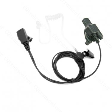 Microphone Earpiece with Lapel clip for Motorola Police radio HT1000 GP9000 JT1000 MT2000 MT6000