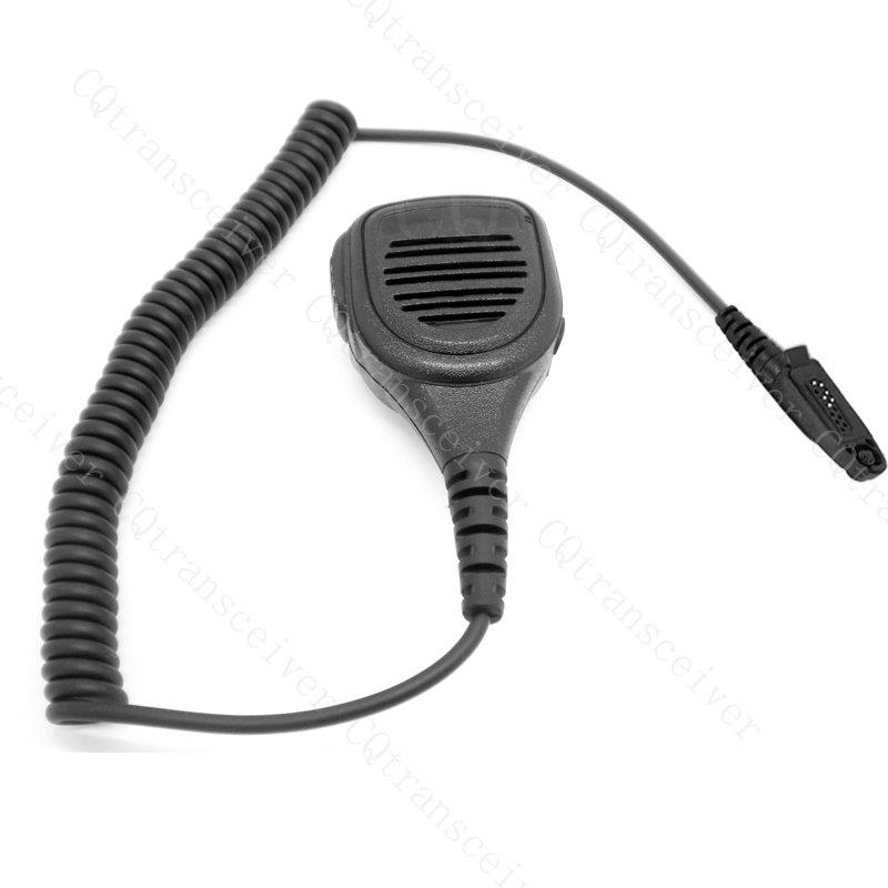 Heavy Duty Waterproof Speaker Mic for Motorola radio GP328 PLUS GP344 GP388