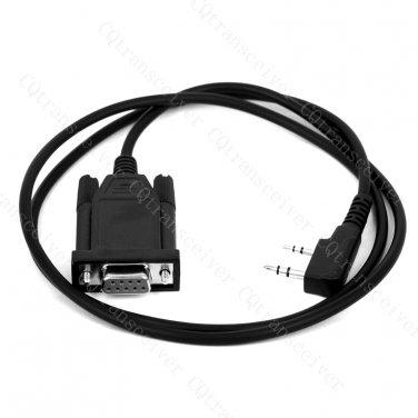 Programming cable for Kenwood radios TK208 TK220 TK240 TK248 TK249 TK250 TK253 TK255 TK260G TK270