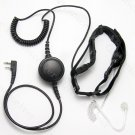 Heavy duty Throat mic Headset for Baofeng portable radio UV5R UV3R PLUS UV5RB BF666 BF777