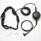 Heavy duty Throat mic earpiece for Motorola Talkabout EM1000 EM100R M1020R EM350R EM355R RM356R T270