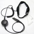 Dual Sensor Tactical Security Throat mic headset for Motorola radio PRO5150 PRO5350 PRO5450 PRO5550