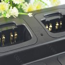 6 Way 6-Unit Rapid Charger Station for Motorola Handheld Radio HT750 HT1250 GP328 GP340 GP380 GP360