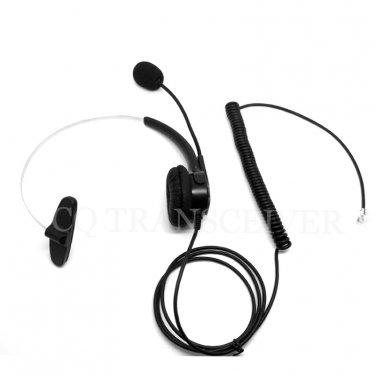 CQtransceiver Monaural Telephone Headset RJ9 Plug for 3Com 3102 3103 Business Phones