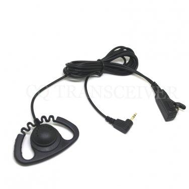 Zigzag D Shape Earhook Headset for Motorola T6400 T6500 T6510 T6550 T7100 T7150 T7200 T7400 T7450