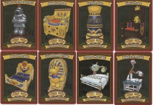 Webkinz CURIO CURIOSITIES Rare FOIL CARDS Full Set #1-8