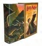 Harry Potter and the Deathly Hallows DELUXE version signed book BOXED! MINT!