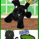 Webkinz LIMITED EDITION Black cat w/green eyes Seasonal HALLOWEEN Release IN HAND!! SHIPS FREE!!