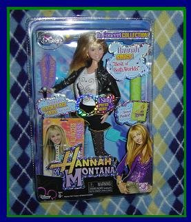 """Hannah Montana Doll In Concert Collection sings """"BEST OF BOTH WORLDS"""" VHTF NEW!! Hot 2007 TOY!"""