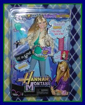 """Hannah Montana In Concert Collection Doll sings """"THE OTHER SIDE OF ME"""" VHTF NEW! Hot toy for 2007!"""