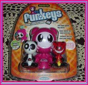 Mattel UB FUNKEYS Radica kit U.B. FUNKEY EXCLUSIVE PINK STARTER PACK w/ LOTUS & DUECE NEW!! RARE!!