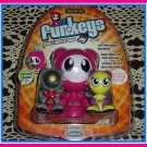 Mattel UB FUNKEYS Radica U.B. FUNKEY kit EXCLUSIVE PINK STARTER PACK w/ TWINX & SCRATCH NEW!! RARE!!
