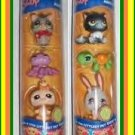Littlest Pet Shop 2 HALLOWEEN TUBES 6 pets NEW&HTF CUTE