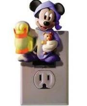 Novelty Mickey Talking Night Light