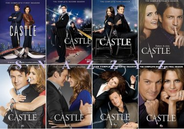 Castle DVD Complete Series Seasons 1 - 8