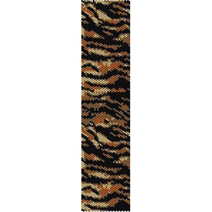 Tiger Print Beading Cuff Bracelet Sale Half Price Off