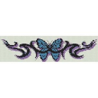 Butterfly Tattoo Loom Beading Pattern For Cuff Bracelet