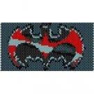 SUPERHERO BATMAN - beading cuff bracelet SALE HALF PRICE OFF  pattern for peyote SALE