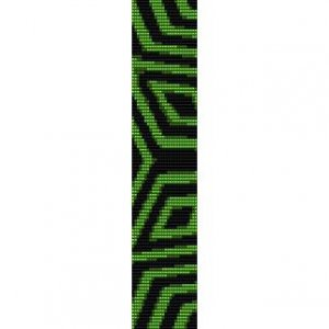 SUMMER ZIG ZAG  - LOOM beading pattern for cuff bracelet SALE HALF PRICE OFF