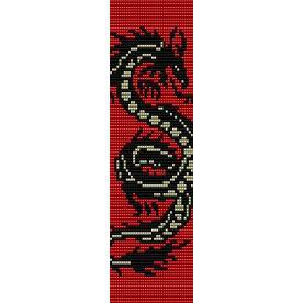Black Dragon Beading Cuff Bracelet Sale Half Price Off