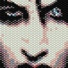 MARILYN MANSON  - LOOM beading pattern for cuff bracelet SALE HALF PRICE OFF