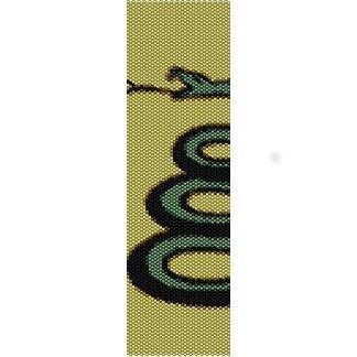 Snake Loom Beading Pattern For Cuff Bracelet Sale Half