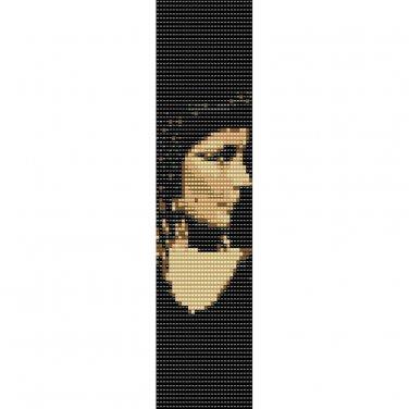 CLEOPATRA  - LOOM beading pattern for cuff bracelet SALE HALF PRICE OFF