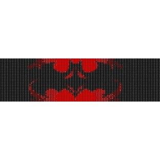 BATMAN LOGO  - LOOM beading pattern for cuff bracelet SALE HALF PRICE OFF