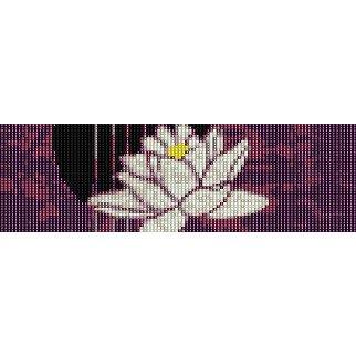 LOTUS FLOWER  - LOOM beading pattern for cuff bracelet SALE HALF PRICE OFF